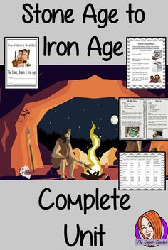 34 Complete Lesson on Pre-History covering the Stone, Bronze and Iron Ages Study History, Mystery Of History, Pre History, Ancient History, Story Of The World, Teaching Resources, Tes Resources, Iron Age, Primary School