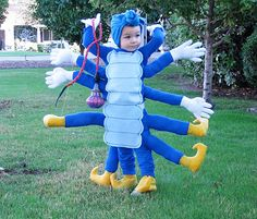 Disfraz infantil oruga