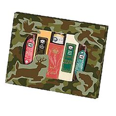 Send them a sure fire hit they can enjoy while out on the hunt. The Outdoorsman Gift pack includes: 1 each 5 oz Original Beef and Garlic Beef summer sausage, 1 each 4 oz Old Hickory and Swiss Blend cheese bar, oz wheat crackers, oz Cajun mustard Cheese Gift Baskets, Gift Baskets For Him, Cheese Gifts, Unique Gifts, Best Gifts, Old Hickory, Meat And Cheese, Cheese Bar, Sports Gifts
