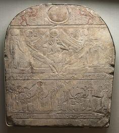Stele of the High Priest of Ptah, Shedsunefertem, Egypt, 945-924 BC