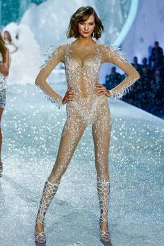 Victoria's Secret Fashion Show Crystal Jumpsuit
