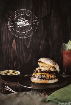 Breakfast Burgers & Bloody Marys