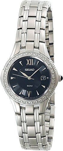 Seiko Women's SXDA83 Le Grand Sport Diamond Watch * This is an Amazon Associate's Pin. Click on this Amazon Affiliate link for additional details.