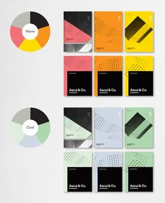 Brand identity design for Ascui & Coarchitects by Laura...