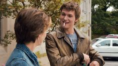 """""""The Fault in Our Stars"""" film starred Ansel Elgort and Shailene Woodley as star-crossed lovers. The film included a lot of romantic scenes that wooed young middle schoolers. Coming Out Stories, Movies Coming Out, Hits Movie, Movie Tv, Ya Novels, Romantic Scenes, Woo Young, English Movies, Movie Lines"""