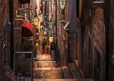 Check out these nice alleys that are picturesque on their own.