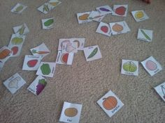 free, preschool, teacher, lesson, eat a rainbow, healthy eating, colors...beautiful colored cards to print