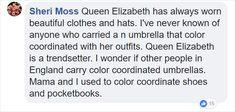 لاحظ شخص ما شيئًا مثيرًا للاهتمام حول ملابس الملكة ، ولن تكون قادرًا على عدم رؤيتها (15 صورة) - Reali ritual Queen Elizabeth, Other People, Beautiful Outfits, Clothes, Outfits, Clothing, Kleding, Outfit Posts, Coats