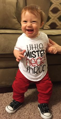 Little Mister Heart Throb T-shirt from Maple Street Designs in MN