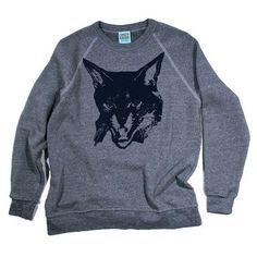 Fierce+Kitty+Sweatshirt+Unisex,+$35, now featured on Fab.