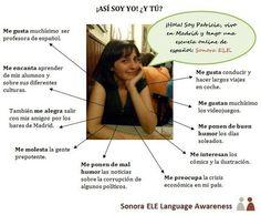 A1/B1 - Expresar gustos y sentimientos para dar información personal.