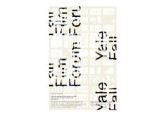 The Yale Fall Film Forum, hosted by the Digital Media Center for the Arts,brings together filmmakers and screenwriters from across the university to show work and start collaborations. I began by making a typographic animation for online promotion of the event, then tiled and distorted the frames to make the print post