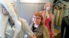 Kun nahka ja intohimo kohtasivat – Petruska juhlii 40 vuoden muotitaivalta Riihimäellä | Aamuposti. Kuva Pia Lyy.