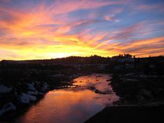 Pagosa Springs sunset January 2012