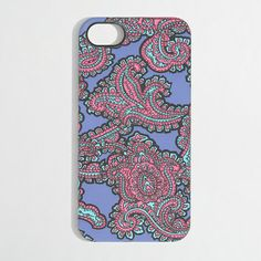 J.Crew Factory - Factory printed phone case for iPhone 5