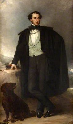Anthony Ashley-Cooper (1801–1885), 7th Earl of Shaftesbury by Francis Grant, Palace of Westminster
