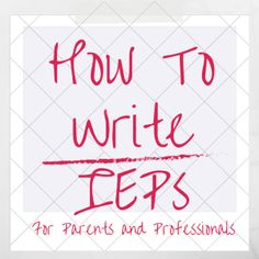 howtowriteIEPs