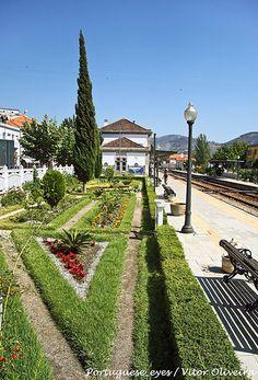 Estação Ferroviária do Pinhão - Portugal Portugal, Douro, Homeland, Lisbon, Railroad Tracks, Spain, Sidewalk, Architecture, Traveling