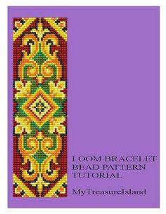 Bead+Loom+Vintage+Motif+9+Bracelet+Pattern+by+MyTreasureIsland