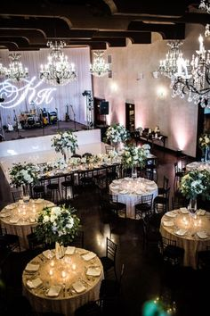 Rustic Elegant Wedding Ballroom at Ma Maison | Photography: The Bird & The Bear Photography & Films | Florist: Stems Floral Design and Productions | Decor/Rentals: Whim Hospitality || #bridesofaustin #austinwedding #weddingballroom