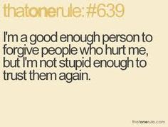 im not stupid enough