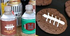 Football printables & snack ideas