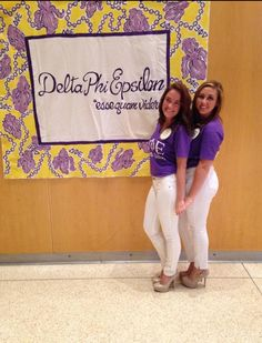 Delta Phi Epsilon recruitment