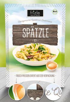 packaging design pitch for frizle spätzle. made by www.sebastianwiessner.de