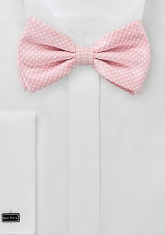 Pin Dot Bow Tie in Pinks