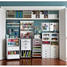 Cheap Craft Room Storage and Organization Furniture Ideas 12 - DecoRewarding - Cheap Craft Room Storage and Organization Furniture Ideas 11 -