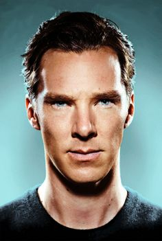 I don't particularly find Mr. Cumberbatch sexy (apart from that baritone voice of his), but his eyes in this picture...oh my...