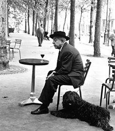 Jacques Prévert par Robert Doisneau