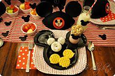 Cute idea for announcing a disney trip to kids - disney breakfast