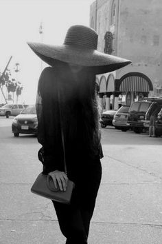 Big obnoxious floppy hat, a sure way to draw some attention. I'd rock it!