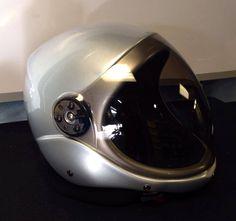 Aero silver con visor ahumado