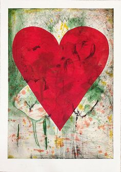 JIM DINE Yellow Marks 2013