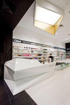 Frivole Perfumery Interior by Theza Architects