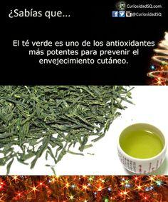 ¿Sabias Que? - té verde