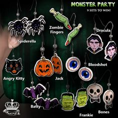 Yummy for for TAG! Gacha - Monster Party Earrings | Flickr - Photo Sharing!