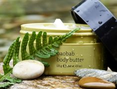 The chill of winter can leave your skin dry and cracking. Baobab body butter from Epoch Oils combines shea butter with the fruit of the African Baobab tree to sooth and quench skin. Better yet, with every bottle sold, they plant a Baobab tree. Lotion For Dry Skin, Body Lotion, Body Butter, Shea Butter, Bay Rum, Roll On Bottles, Epoch, Skin So Soft, Anti Aging Skin Care