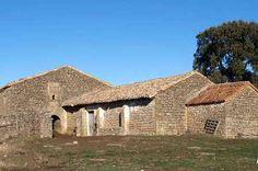 Luesia, Zaragoza. Ermita de Santa Eugenia s. XI