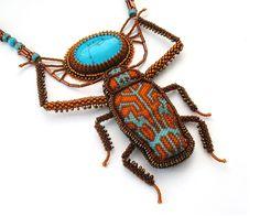 Bead art by Julia Turova