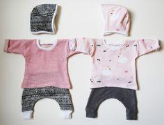 Newborn twin girl outfits homemade