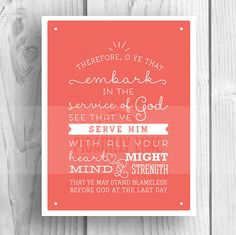 Items similar to LDS Young Women 2015 Theme print, illustration, poster, Embark in the Service of God, YW theme on Etsy Young Women Activities, Youth Activities, Yw Handouts, Because He Lives, Personal Progress, Bible Words, Girls Camp, New Beginnings, Lds