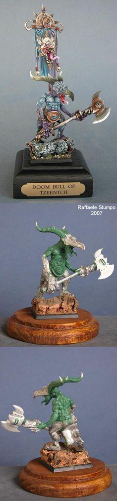 Doom Bull of Tzeentch -Bronze at italian Gd 2007-