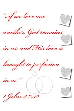Free Printable Wedding Scrapbook Pages | used a verse that was read during our wedding to make it. If the ...