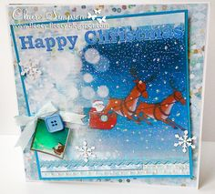 Father Christmas CD from #crafterscompanion