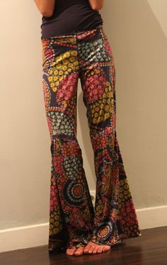 oxford pants 70s Hippie  style by Solci on Etsy, €35.00