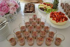 Chokolademousse og andre søde sager til min dejlige søsters studentergilde