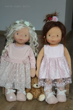 Augustine and Henriette by North Coast Dolls More